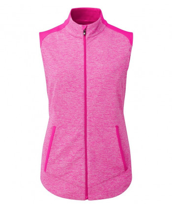 Dámská golfová vesta FootJoy Full Zip Brushed Chill Out Vest 8d8b6e2b5b