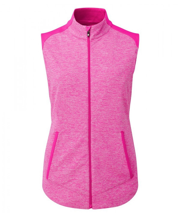 FootJoy Ladies Full Zip Brushed Chill Out Vest