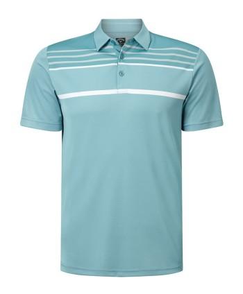 Pánské golfové triko Callaway Blocked Birdseye 2019