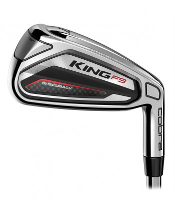 Cobra King F9 SpeedBack Irons (Graphite Shaft)