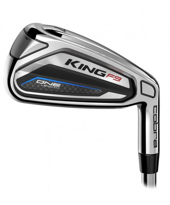Cobra King F9 SpeedBack One Length Irons (Steel Shaft)