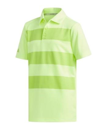 Dětské golfové triko Adidas 3-Stripes 2019