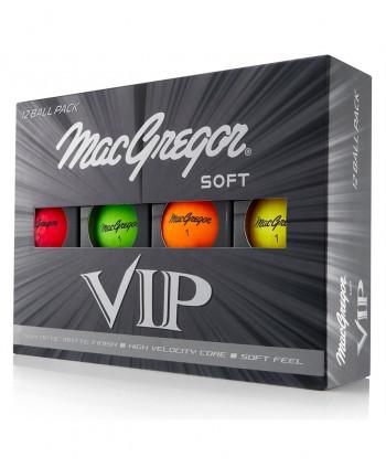 Golfové míčky MacGregor VIP Soft (12 ks)