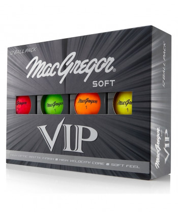 MacGregor VIP Soft High Visibility Golf Balls