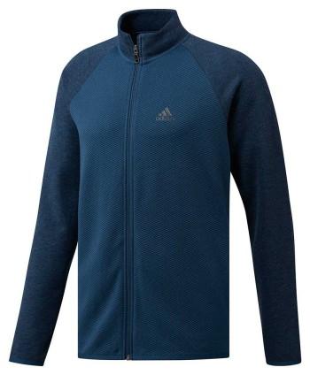adidas Mens ClimaWarm Gridded Quarter Zip Pullover