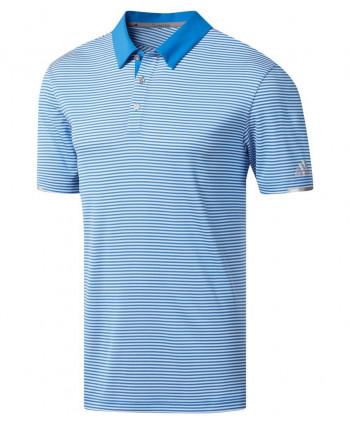 Pánské golfové triko Adidas Climachill Tonal Stripe 2019