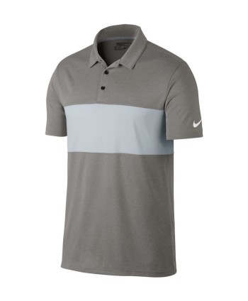 Nike Mens Breathe Colour Block Polo Shirt