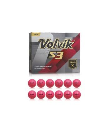 Golfové míčky Volvik S3 (12 ks)