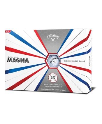 Golfové míčky Callaway Supersoft Magna 2019