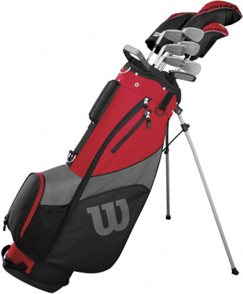 Wilson Mens Prostaff HDX Golf Package Set (Steel/Graphite) 2017