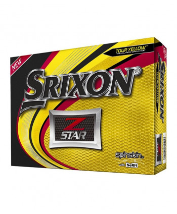 Srixon Z-Star Pure White Golf Balls (12 Balls) 2015