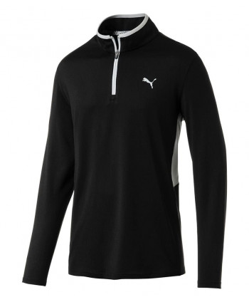 Puma Mens Rotation Quarter Zip Pullover