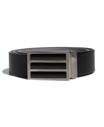 adidas Mens 3 Stripes Solid Reversible Belt
