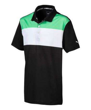 Detské golfové tričko Puma Turf Stripe 2018