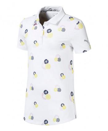 Dívčí golfové triko Puma Blossom