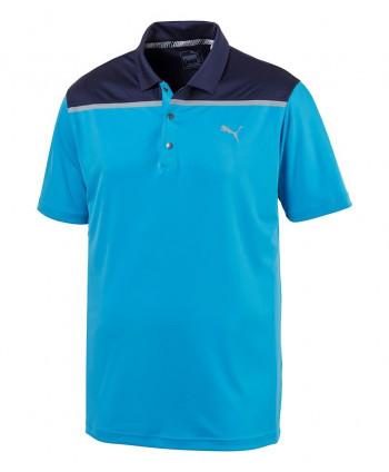 Pánské golfové triko Puma Bonded Colourblock 2019