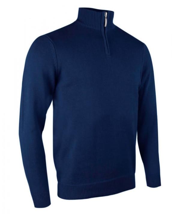 Pánský golfový svetr Glenmuir Clarke Zip Neck Sweater