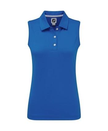 Dámske golfové tričko FootJoy Interlock Sleeveless Solid