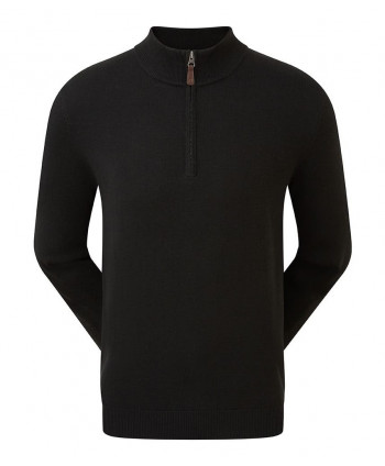 FootJoy Mens Wool Blend V-Neck Pullover