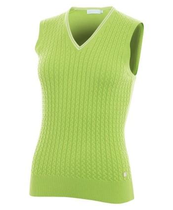 Dámská golfová vesta Green Lamb Blaze Cable