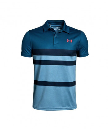Detské golfové tričko Under Armour Threadborne Blocked