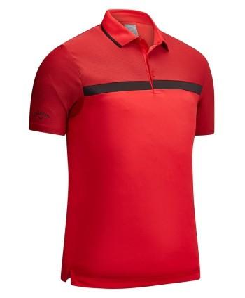 Pánské golfové triko Callaway Fine Line Opti-Dri Colour Block 2019