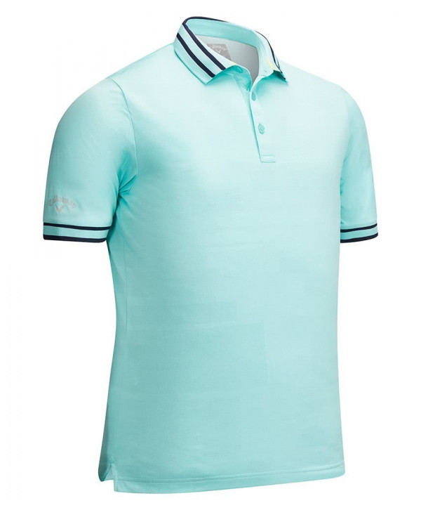 Callaway Mens Linear Printed Polo Shirt