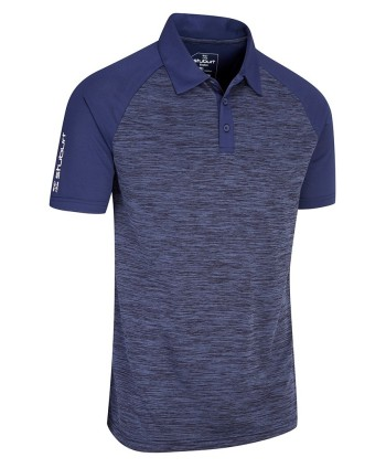 Pánske golfové tričko Stuburt Sport Tech 2018