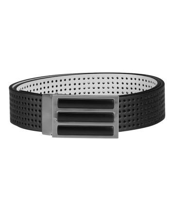 Pánský golfový pásek Adidas 3 Stripes Perforated Reversible