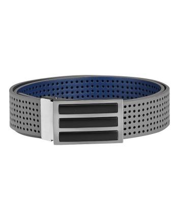 Pánsky golfový opasok Adidas 3 Stripes Perforated Reversible