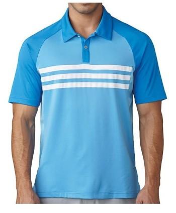 Pánske golfové tričko Adidas ClimaCool 3 Stripes Competition