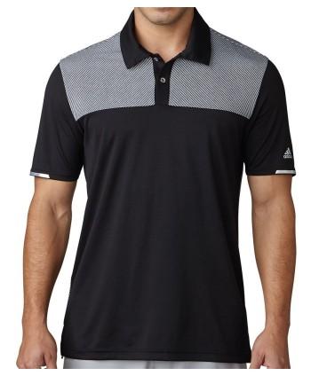 Pánské golfové triko Adidas Climachill Heather Block Competition