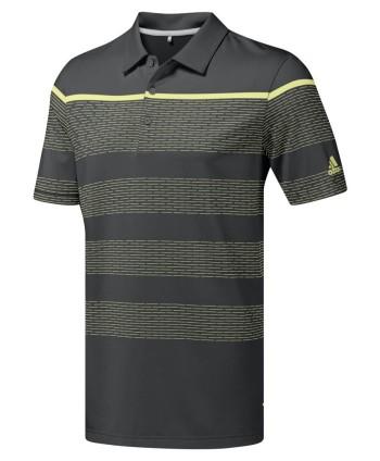 Pánské golfové triko Adidas Ultimate 365 Dash Stripe
