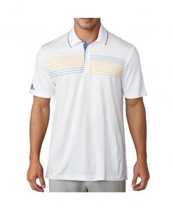 Pánské golfové triko Adidas Essentials Textured Tipped