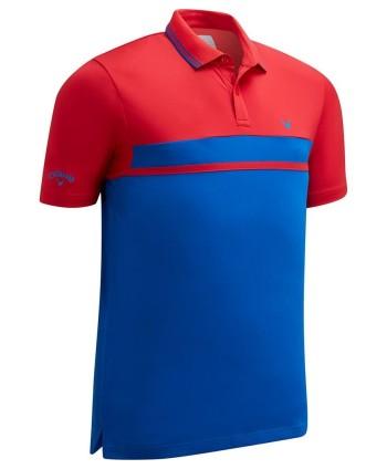 Pánské golfové triko Callaway Colour Blocked Pique