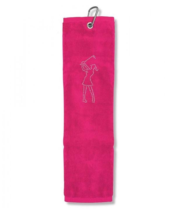 Dámský golfový ručník Crystal Golfer