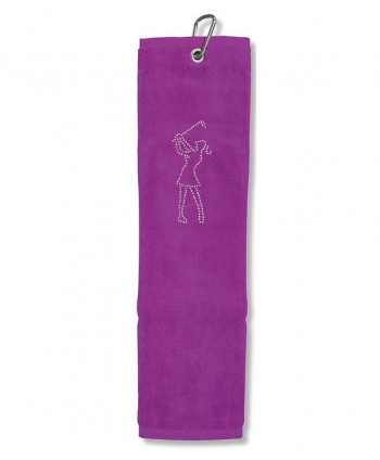 Callaway Uptown Floral Tri-Fold Towel