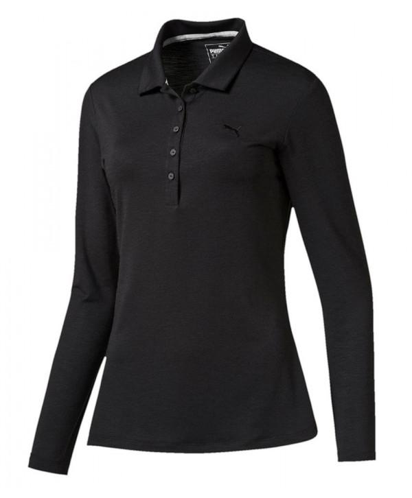 Dámské golfové triko Puma s dlouhým rukávem