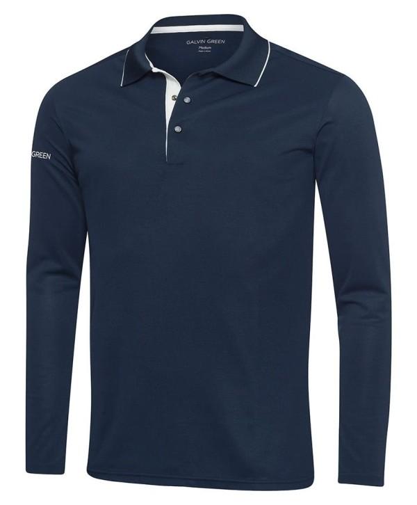 Galvin Green Mens Marc Ventil8 Plus Long Sleeve Golf Shirt