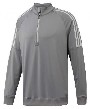 Pánská golfová mikina Adidas 3- Stripes Quarter Zip