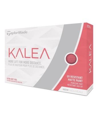 Dámské golfové míčky TaylorMade Kalea, fialové (12ks)