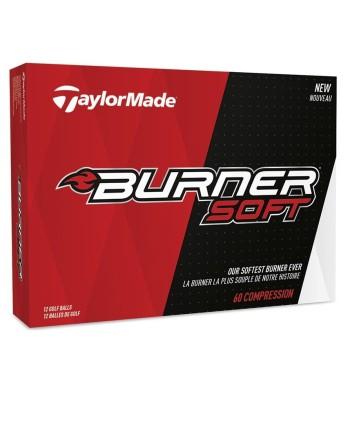 Dámské golfové míčky TaylorMade Burner (12 ks)
