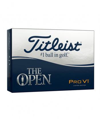 Limitovaná edice míčků Titleist Pro V1 The Open Edition