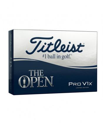 Limitovaná edice míčků Titleist Pro V1x The Open Edition