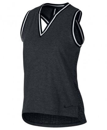 Dámske golfové tričko Nike Burnout Knit Sleeveless 2019