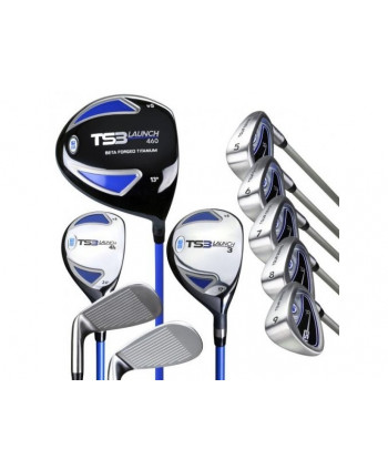 US Kids Tour Series 57 Inch 10-Club Golf Combo Set 2015