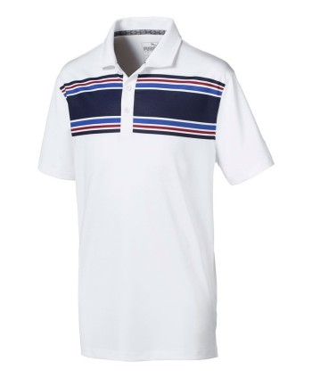 Detské golfové tričko Puma Montauk 2019