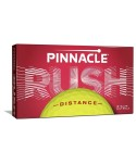Golfové míčky Pinnacle Rush (15 ks) - žluté