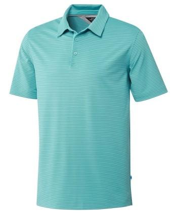 Pánské golfové triko Adidas Adipure Tech Stripe