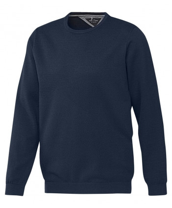 adidas Mens AdiPure Merino Plaited Pima V-Neck Sweater